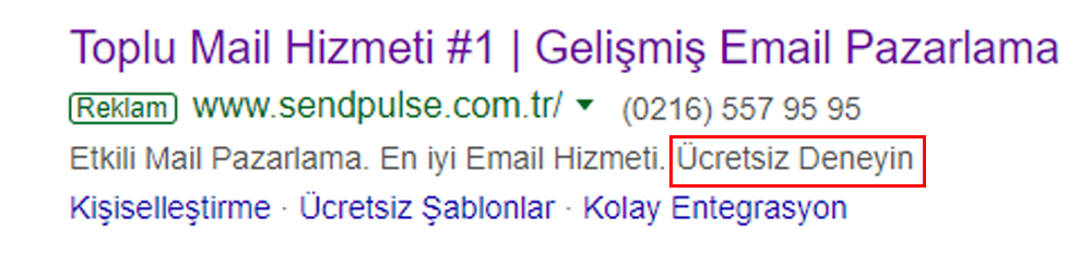 Google Ads Açılış Sayfası için En İyi Uygulamalar 1: Mesaj Eşlemesi