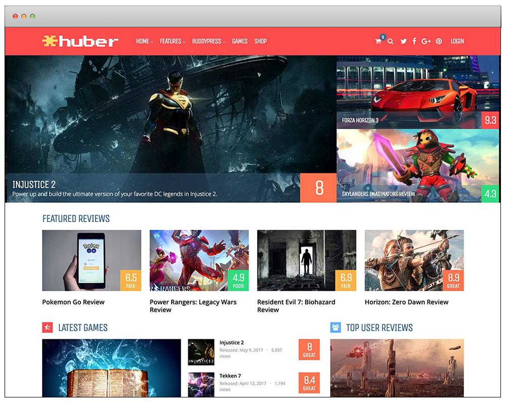 WordPress Temaları - Huber