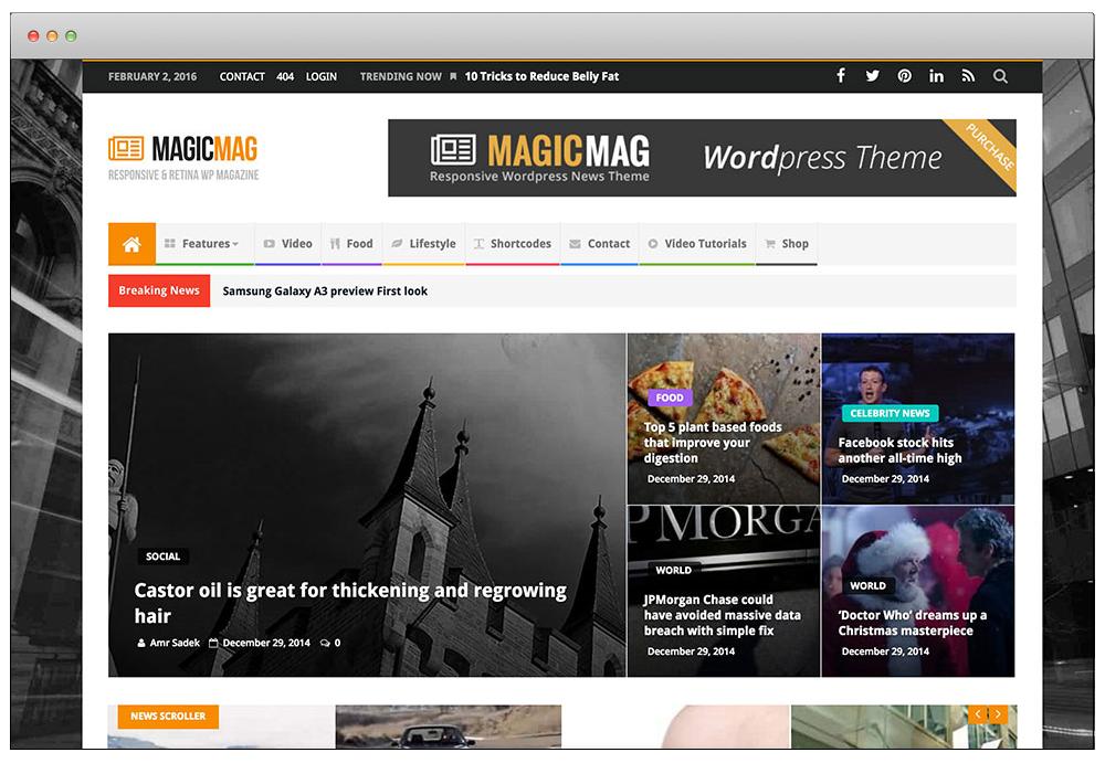 WordPress Temaları - MagicMag