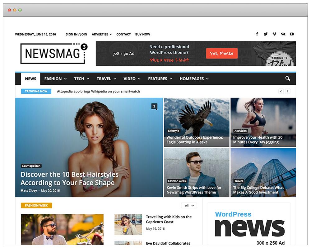 WordPress Temaları - NewsMag