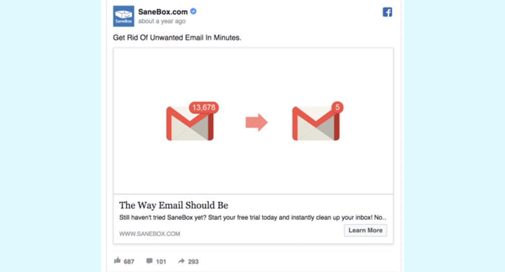 Facebook Reklam Tasarımı