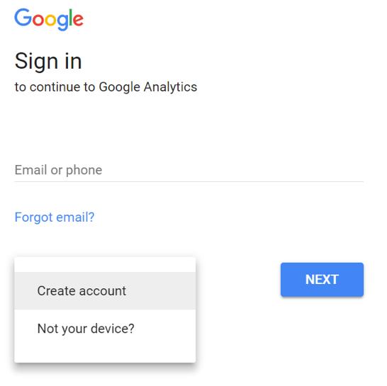 google analitik kurulum