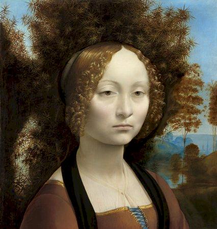 Ginevra de'Benci - Leonardo da Vinci