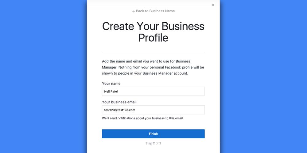 Sosyal Medya Pazarlama Nedir? Adım Adım Kılavuz : Facebook Business Manager işletme epostası