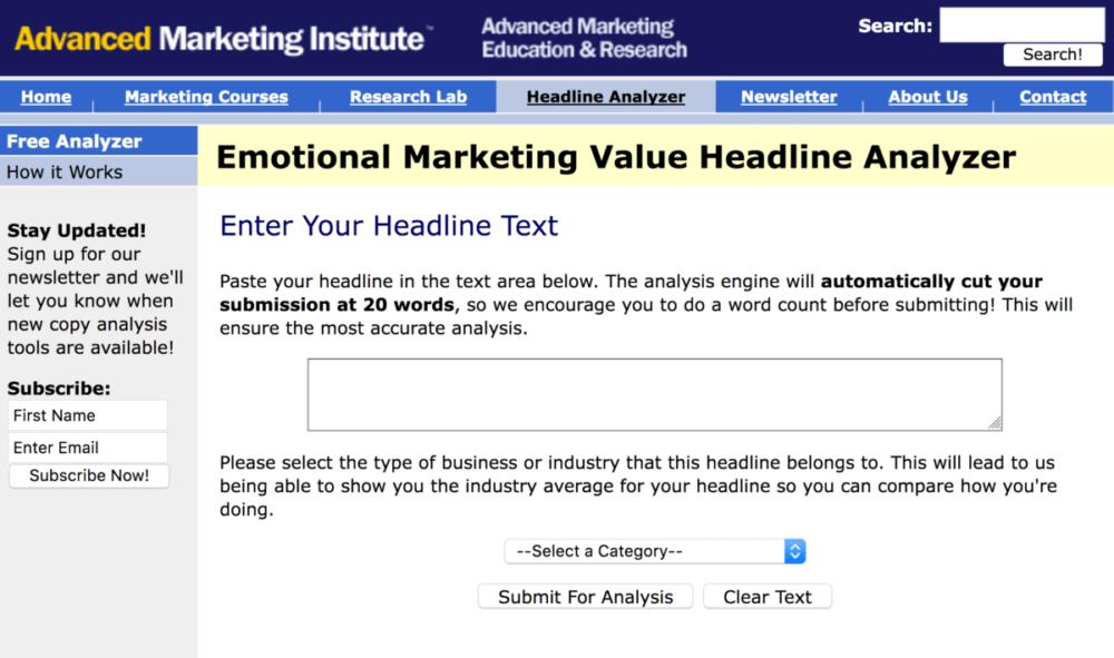 advanced marketing institute