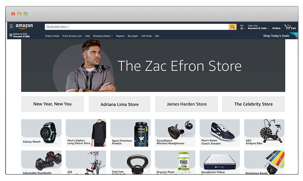 zac efron amazon