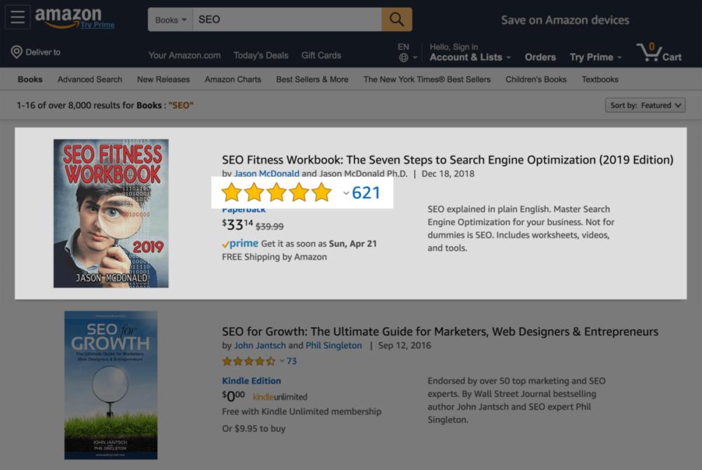 Amazon SEO Kitabı