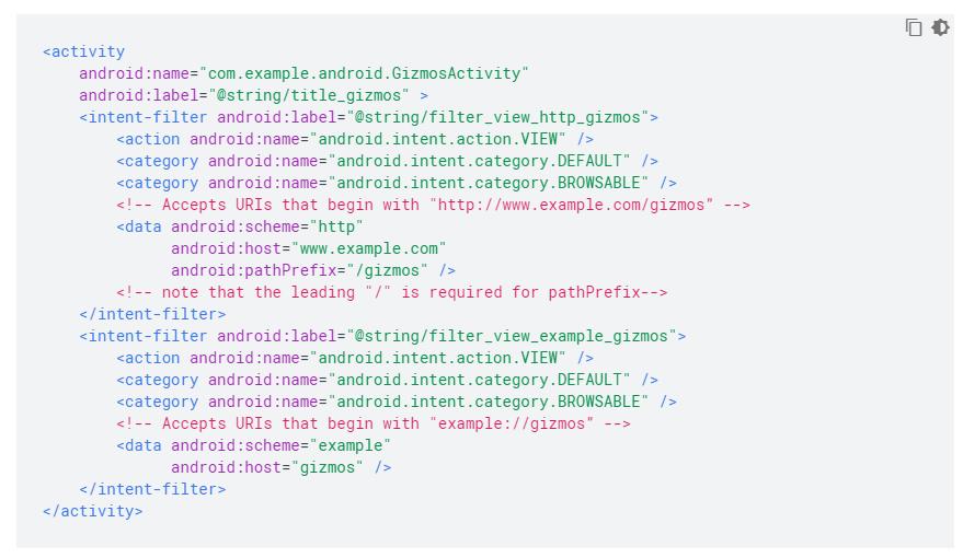 android kodu