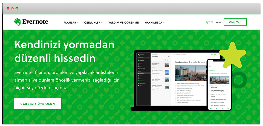 evernote cta