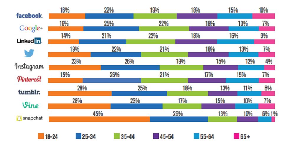 Sosyal Medya Pazarlama Nedir? Adım Adım Kılavuz : Kullanıcı Demografisi
