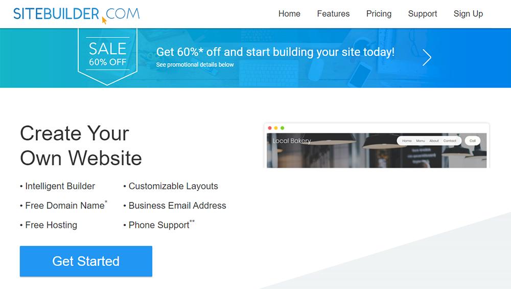 en iyi web site kurulum platformu karsilastirmali SiteBuilder