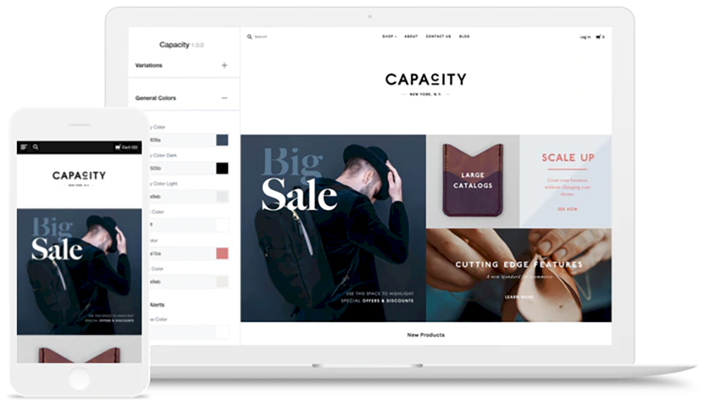 en iyi web site kurulum platformu karsilastirmali BigCommerce design