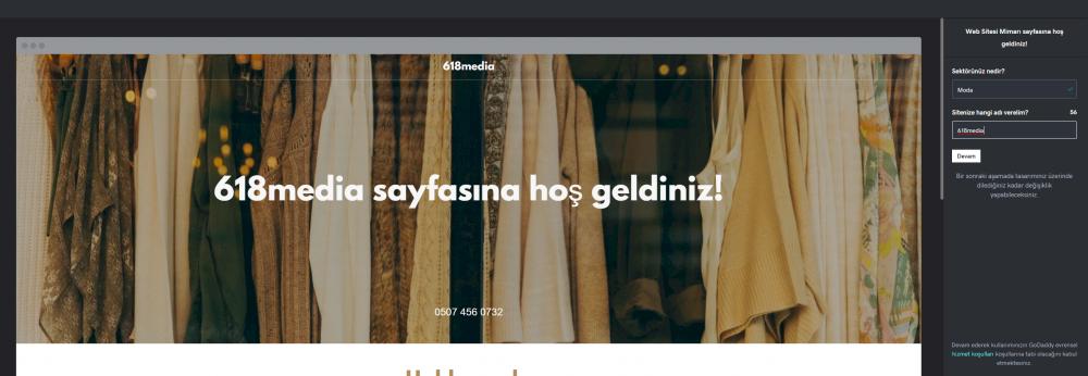 en iyi web site kurulum platformu karsilastirmali godaddy website builder