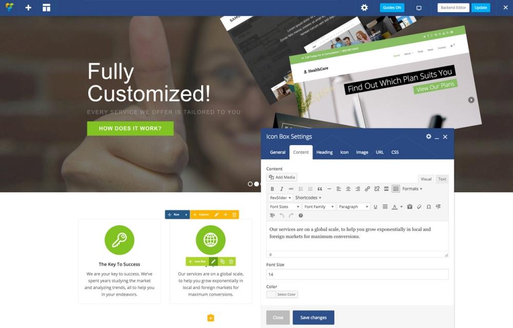 en iyi web site kurulum platformu karsilastirmali wordpress page builder