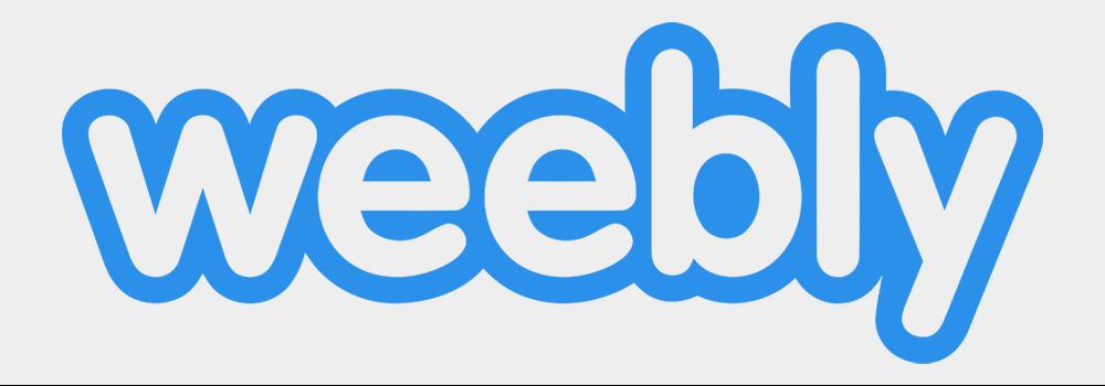 en iyi web site kurulum platformu karsilastirmali Weebly logo