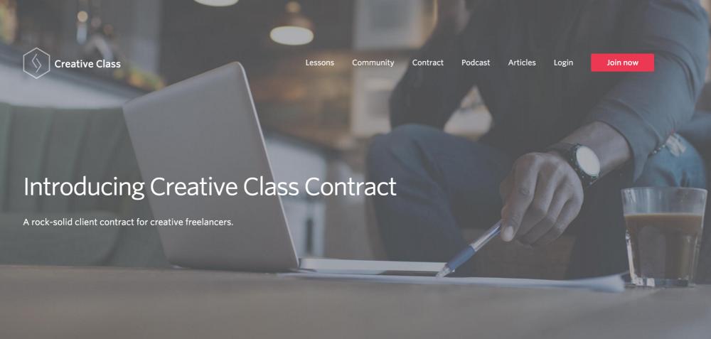 Creative Class Contract Course
