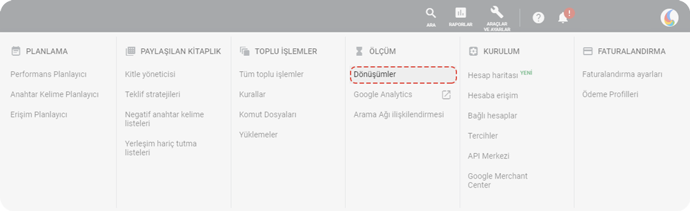 google ads conversion tracking