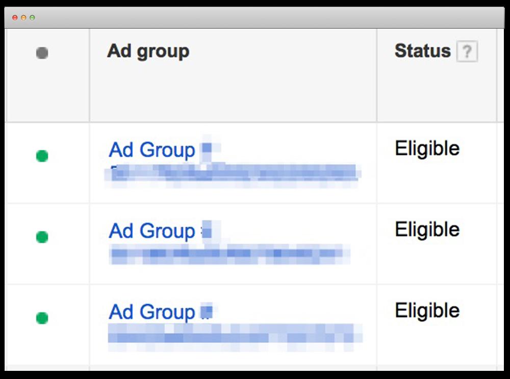 reklam grupları