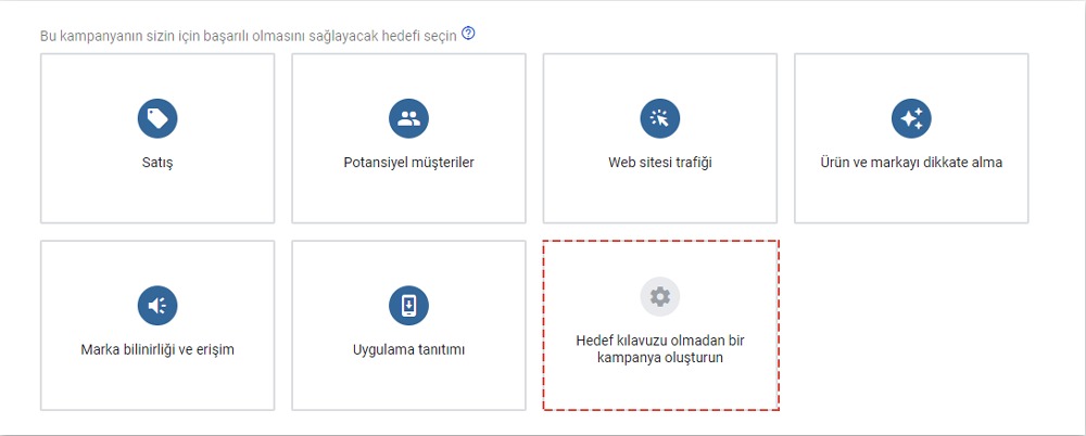 google remarketing kampanya hedefi