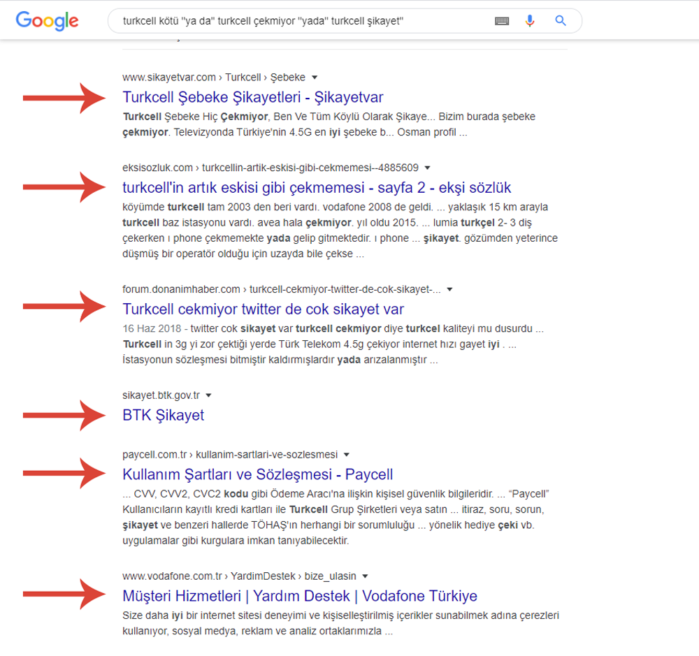 google remarketinreklam metni