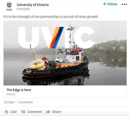 LinkedIn de Reklam Sponsorlu İçerik
