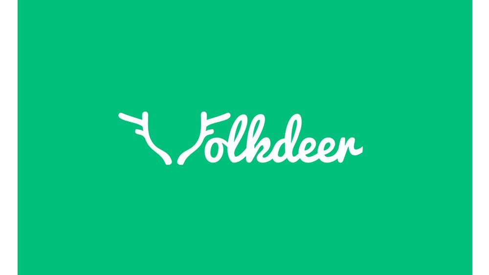 folkdeer logo tasarım
