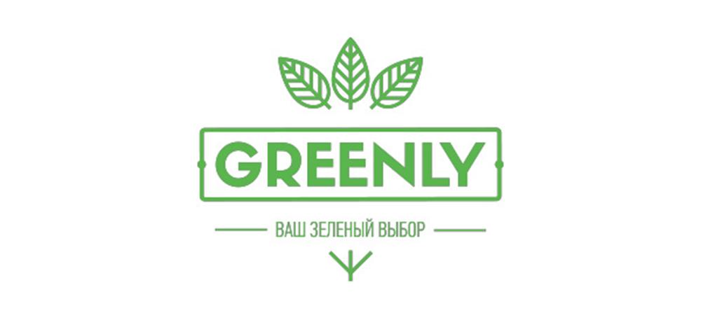 greenly logo tasarımı