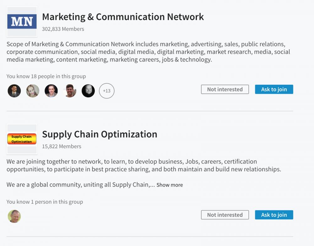Sosyal Medya Pazarlama Nedir? Adım Adım Kılavuz : LinkedIn Grupları