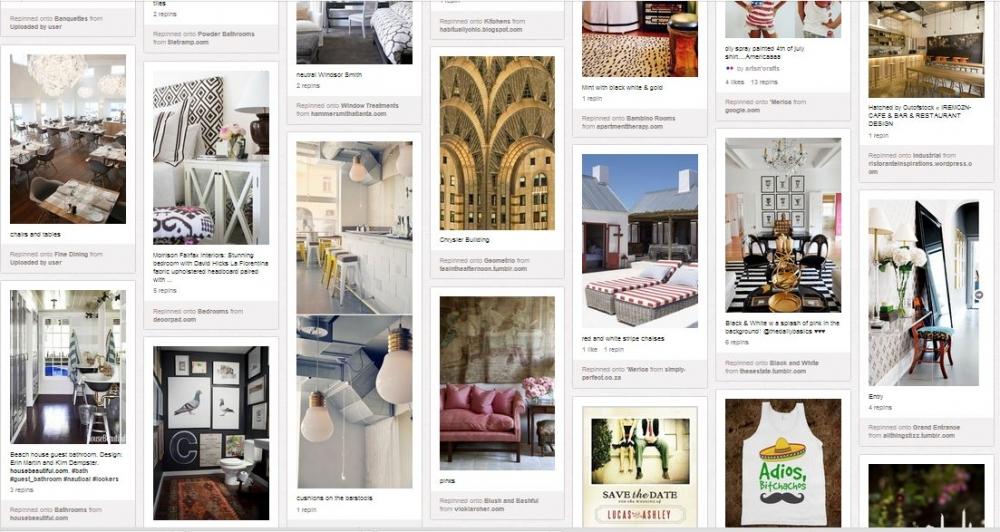 Sosyal Medya Pazarlama Nedir? Adım Adım Kılavuz : Pinterest Örnek Pano