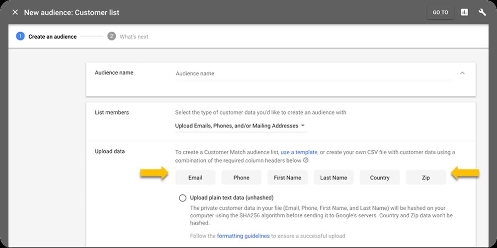 google ads müşteri listesi