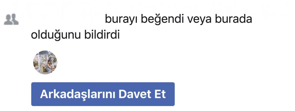 facebook davet