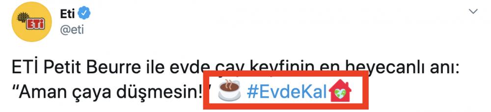 hashtag kullanımı