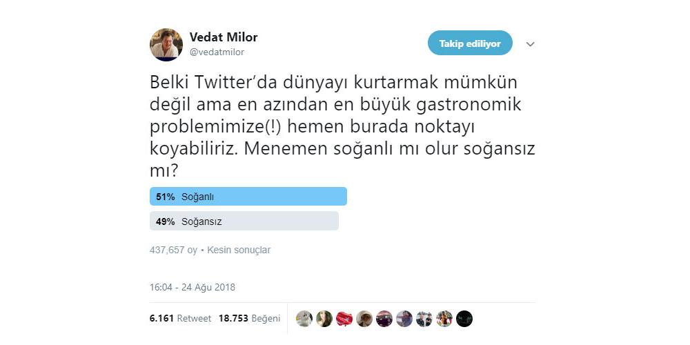 Sosyal Medya Pazarlama Nedir? Adım Adım Kılavuz : vedat milor twitter