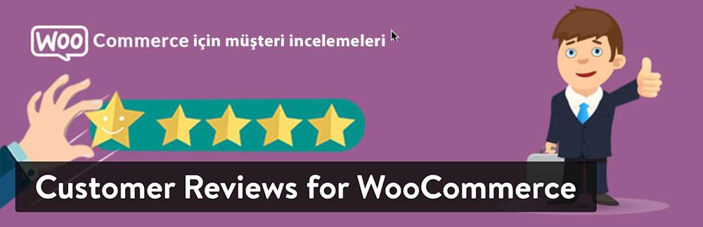 WordPress Yorum Eklentisi - WooCommerce için Müşteri Yorumları