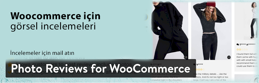 WordPress Yorum Eklentisi - WooCommerce için Fotoğraf İnceleme Eklentisi