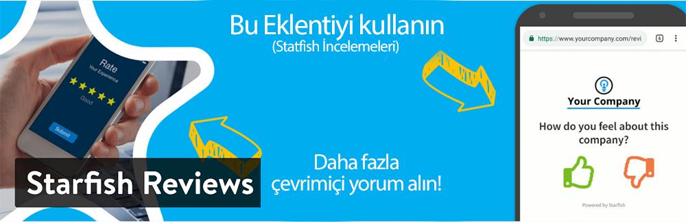 WordPress Yorum Eklentisi - Starfish Reviews